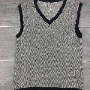 🖤3/$30 Grandpa style knit vest large